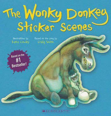 The Wonky Donkey Sticker Scenes By Craig Smith [Paperback | 2014] FREE Delivery