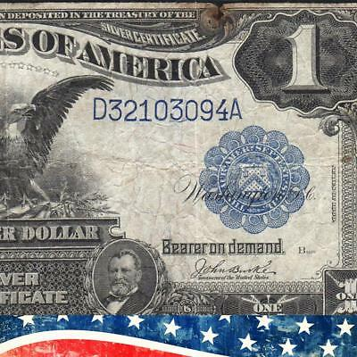 1899 $1 Silver Certificate *BLACK EAGLE* Fr 233  Free Shipping!  D32103094A