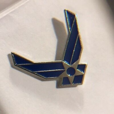 US USA USAF Air Force Insignia Military Hat Lapel Pin