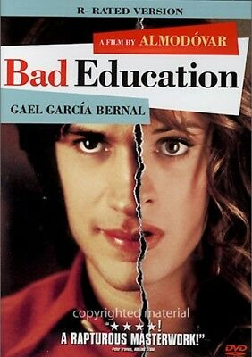 Bad Education (DVD, 2005, R-Rated Version) Spanish with English Subtitles