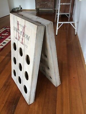 Vintage Montaudom Champagne Rack / Stand 80x48 cm