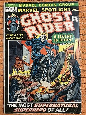 Marvel Spotlight #5 First App Ghost Rider!!