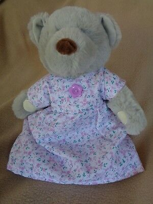 Clothes to fit girls small 12 in teddy bear or newborn doll dress and pants set