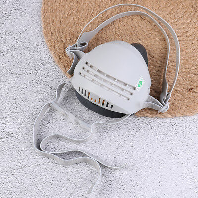 Industrial reusable anti-dust paint respirator welding safe mask with filters