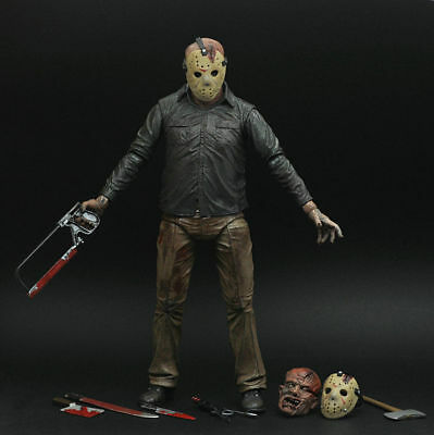 "Friday the 13th Final Chapter JASON VOORHEES 7"" Ultimate Auction Loose Figure"