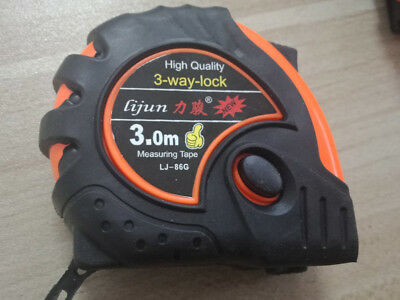 Tape Measure Rubberized Measuring Tape Measure 3m High Quality