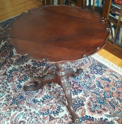 MARVELOUS Georgian Antique Tilt Top 18th Century Table Made in England