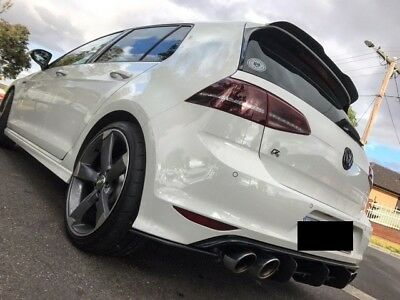 MAXTON DESIGN Golf MK7R 7R REAR DIFFUSER SIDE SPLITTERS - Best Price on Ebay!!!