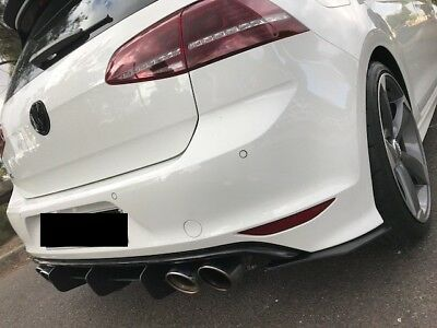 MAXTON DESIGN Golf MK7R 7R REAR DIFFUSER with REAR SIDE SPLITTERS