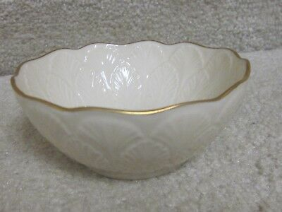 Lenox bowl- vintage, hand decorated with 24K gold,small,never used
