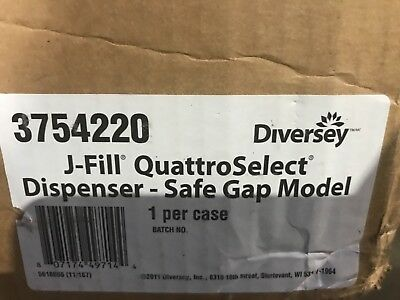 Johnson Diversey J-Fill Quattro Dispensing System 3754220