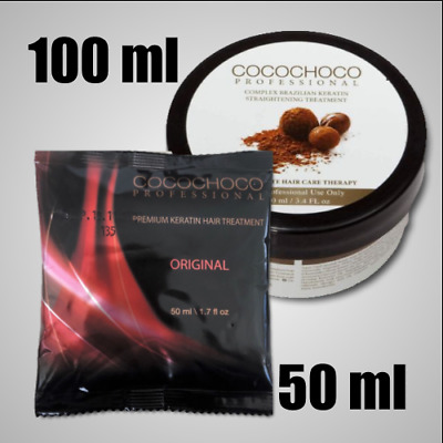 Cocochoco Brazilian Keratin Original Hair Treatment  50-100ml hair straightening