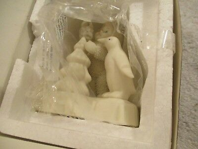 "2000 Snow babies ""Make it shine"" # 56.05732 PENGUIN ALL IN BOX UNUSED"