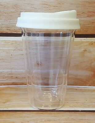 TAKE OUT TRAVEL MUG (Glass) WITH SILICONE LID
