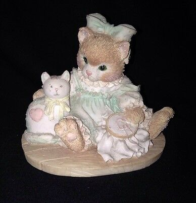 Lot Of 4 Vintage Enesco Calico Kittens-Lovely Condition-No Boxes-1992-1993
