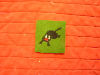 330Th Tank Battalion  Wwi  Patch Rare, Worn Over Left Breast Pocket
