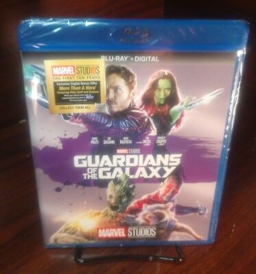 Guardians of the Galaxy(Blu-ray Disc,2017,Includes Digital Copy)NEW-Free Shippin