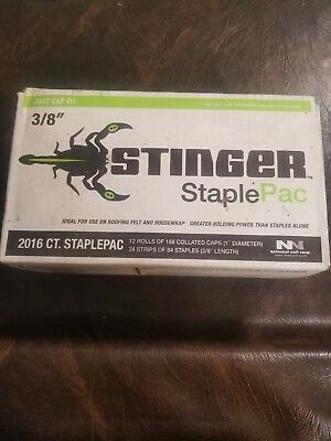 Stinger Cap And Staple,No 136420,  National Nail Corp
