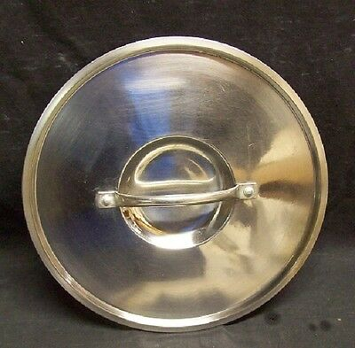 "Restaurant Equipment Bar Supplies  STOCK POT LID  10 1/2"" DIAMETER"