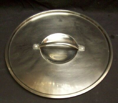 "Restaurant Equipment Bar Supplies  STOCK POT LID  11 1/2"" DIAMETER"
