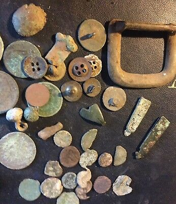 Metal Detecting Finds,Roman, Medieval , Hammered