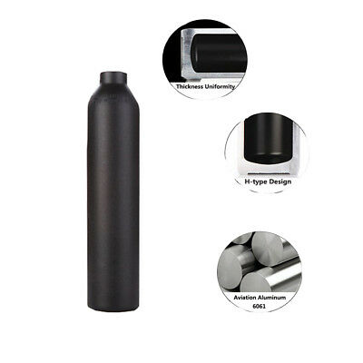 New 0.45L/4500psi Paintball PCP Tank Diving HPA High Compressed Bottle Cylinder