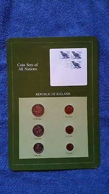 Coin Sets Of All Nations - Republic Of Iceland