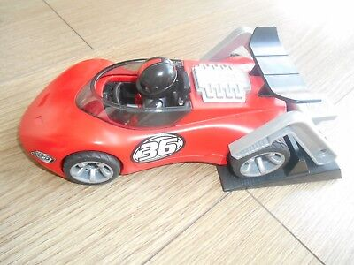 Playmobil Rennwagen rot, 5175 Turbo Racer, Sports & Aktion Rennauto