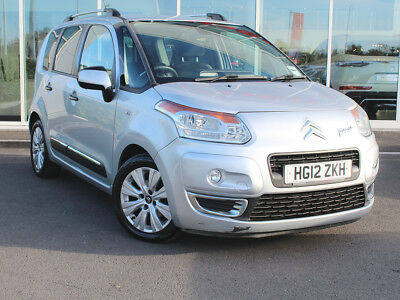 2012 12 CITROEN C3 PICASSO 1.6 HDi EXCLUSIVE 5dr - DIESEL - £30 TAX - 1 OWNER!