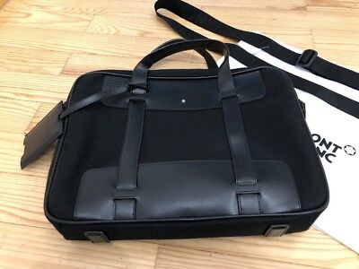 Original MONTBLANC for BMW Laptoptasche schwarz