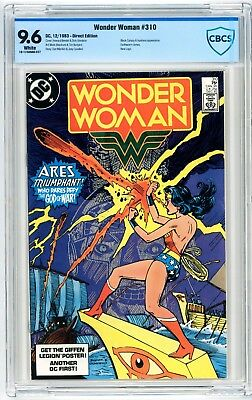 Wonder Woman #310 CBCS 9.6 Black Canary & Huntress Appearance