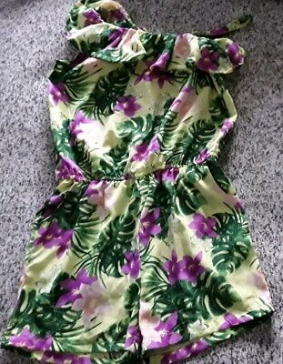 Girls summer playsuit age 7-8