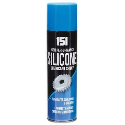 High Performance Silicone Lubricant Spray Eliminates Squeaking & Sticking 200ml