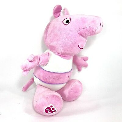 """Build A Bear Workshop BABW Peppa Pig 16"""" Retired - No Clothes"""