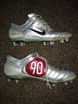 quality design 66baf 60012 ... where can i buy nike air zoom total 90 iii fg football boots silver red  vgc