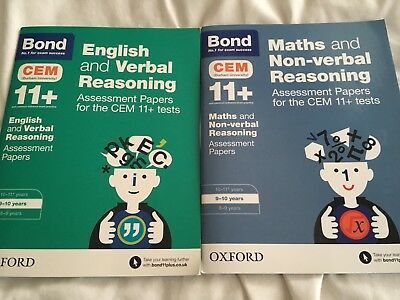 11+ Practice Test Books maths English age 9-10