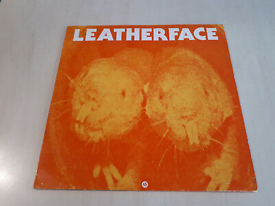 LEATHERFACE - NOT SUPERSTITIOUS ( VINYL LP ) RAR! PUNK incl. THE POLICE COVER