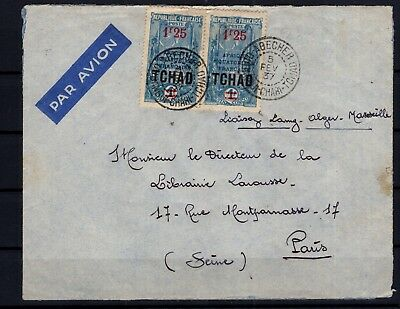 P86033/ Tchad / Chad / Letter / Maury # 40 Obl / Used 120 €