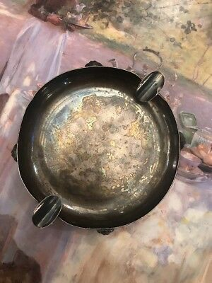 1900's Sterling Silver Ashtray