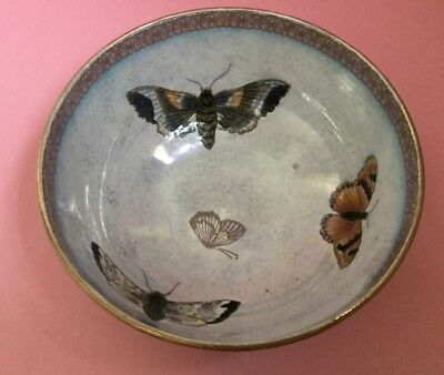 Vintage Art Deco Carlton Ware 'ARMAND' Lustre Bowl 'Flies'