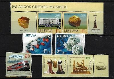 Lithuania 2008/9 Four Mnh Sets, Cat £22+