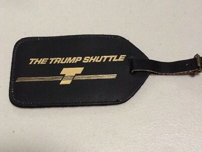 Donald Trump Luggage Tag From Trump Shuttle