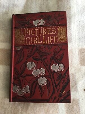 1883 Pictures Of Girls Life Novel By Catharine Augusa Howell