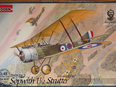 Sopwith 1 1/2 Strutter - two seat fighter      Roden 1/48