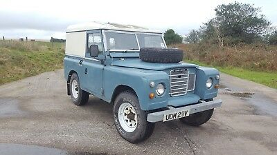 "1980 Land Rover 88"" Series 3 // Restoration Project // Spares or Repair"