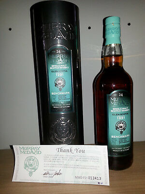 Glen Scotia 24 Jahre 1991/2015 Murray McDavid 46%vol. 0,7l