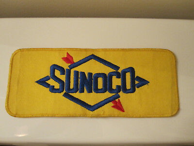 Vintage SUNOCO Cloth Embroidered PATCH Gas Oil Service Station SUN OIL Company
