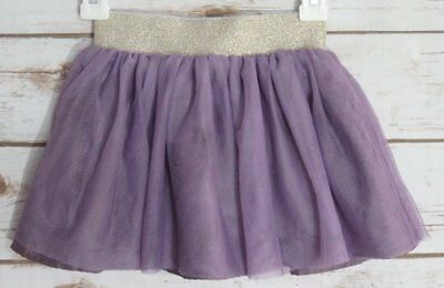 Hanna Andersson Purple Tulle Skirt Gold Waist 90 2/3 Yrs