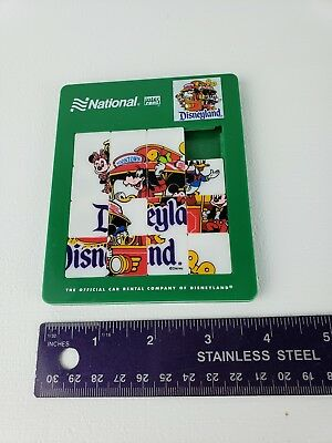 Advertising National Rental Cars Disneyland Slide Puzzle