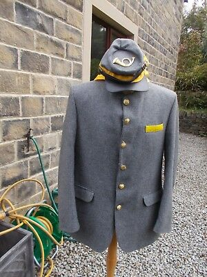 US Civil War Re-enactment jacket, cap and scarf by Greenwoods Menswear